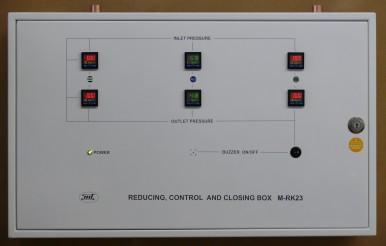 Блок редукции, контроля и отключений