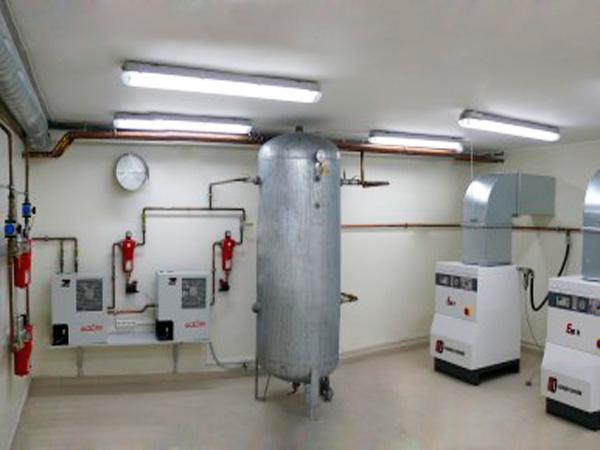 Станции сжатого медицинского воздуха